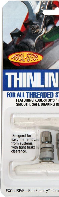 Kool Stop Patin Thinline Canti Bleu 1 Paire 2 pièces