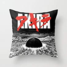Decorative Square Throw Pillow Cover Cushion Case Cover for Sofa Bedroom Car Home Decor Design 18x18 Inch 45x45cm - Akira - Neo Tokyo is About to Explode