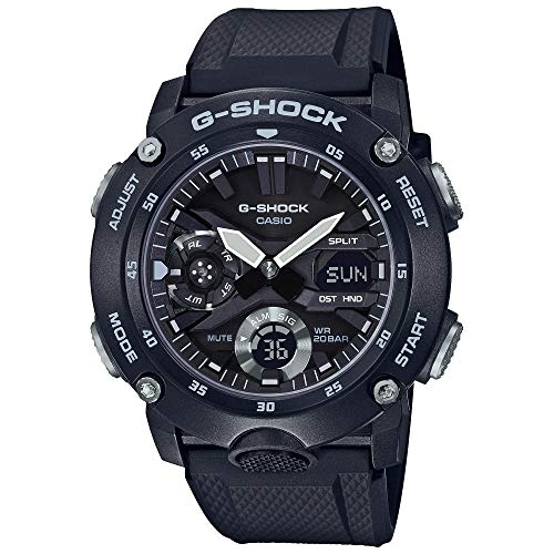 G-Shock by Casio Men's Analog Digital GA2000S-1A Carbon Core Guard Watch Black