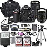 Nikon D780 DSLR Camera with AF-S 24-120mm VR Lens + Nikon AF-P 70-300mm f/4.5-6.3G ED Lens + 2pc SanDisk 32GB Memory Cards + Accessory Kit