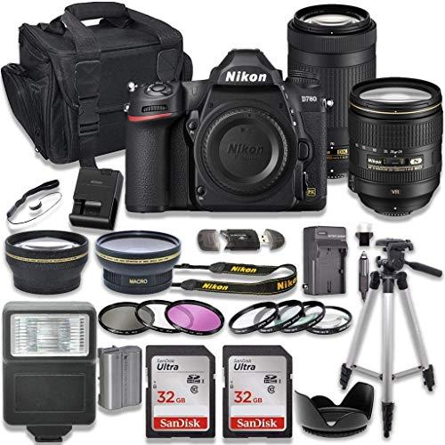 Nikon D780 DSLR Camera with AF-S 24-120mm VR Lens...