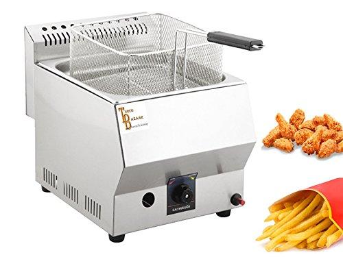 Deep Fryer 5 LT - TB-Industrial Propane - LPG Deep Fryer. CE Certificate (5 LT) TurcoBazaar Brand