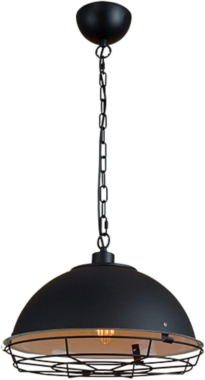 Kronleuchter Retro Eisen Kunst Kronleuchter Restaurant Lampe Industrial Creative Cafe Aisle Single Head Pendelleuchten E27 Lichtquelle
