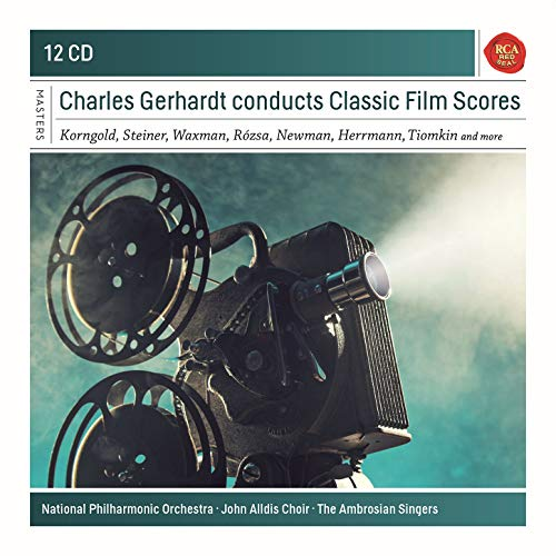Charles Gerhardt Conducts Classic Film Scores. Sony Classical Masters Series