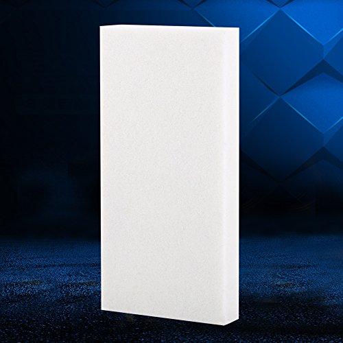Grindstone 10.4 cm x 5.8 cm x 0.4 cm natural portátil afilar piedra afiladora afiladora herramienta para tijeras de cocina (80 # blanco)