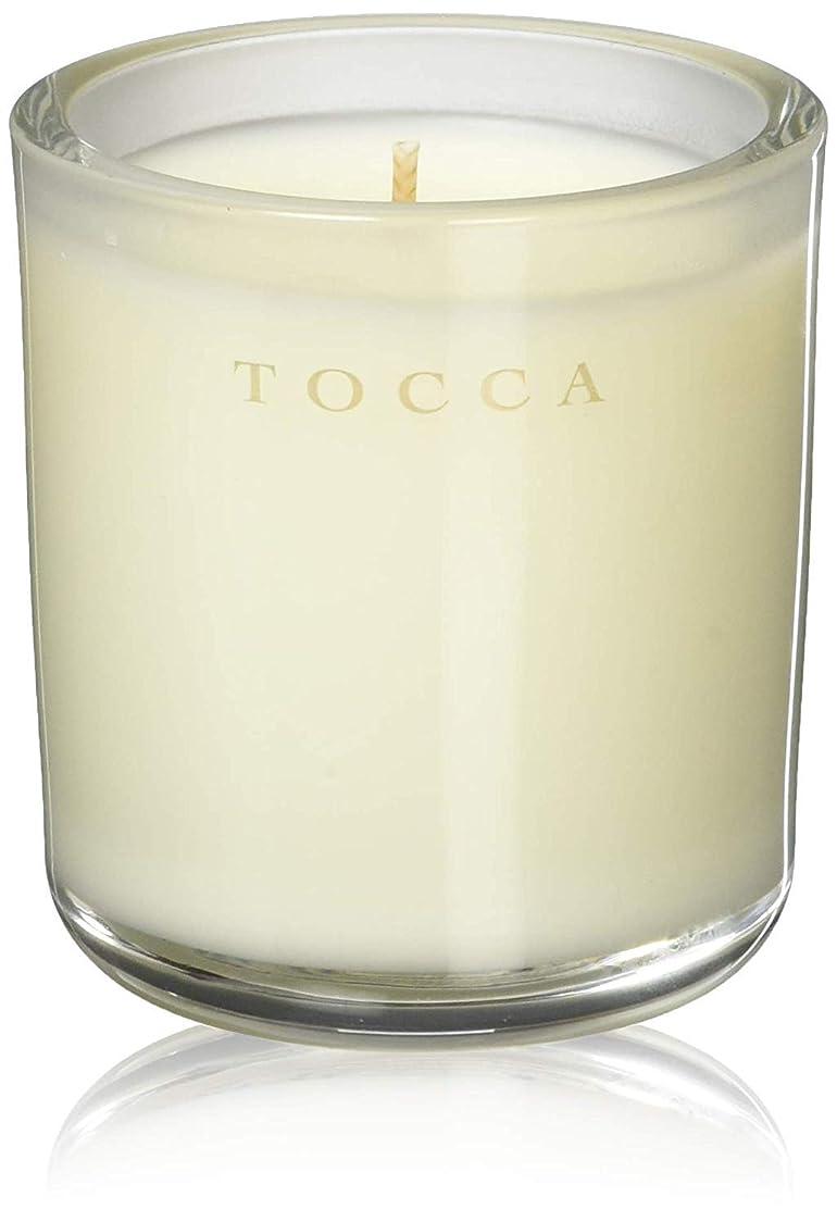 震える横向きほうきTOCCA(トッカ) ボヤージュ キャンデリーナ バレンシア 85g (ろうそく 芳香 オレンジとベルガモットのフレッシュシトラスな香り)