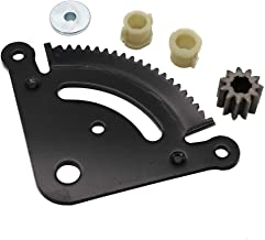 KIPA Steering Sector Gear & Pinion Kit for John Deere LA Series Lawn Mower Tractors 19 Tooth, Replace for OEM Part Number GX21924BLE, GX20053, GX20054, GX21994