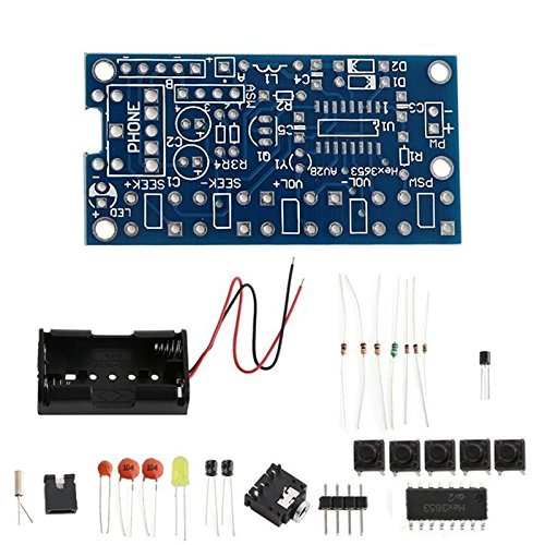 DIY Elektronische Kits 76MHz-108MHzStereo FM Radio Receiver PCB Wireless Modul