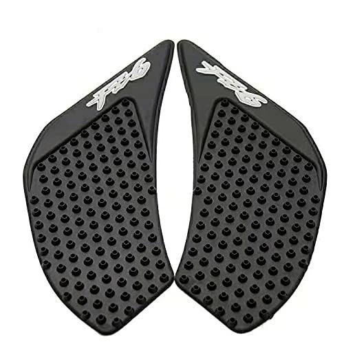 Piezas modificadas para motocicleta, pegatinas laterales antideslizantes para depósito de combustible, pegatinas para depósito de combustible adecuadas para Yamaha YZF-FZ6 06-10 años