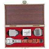 4 piezas, kit de recortador de talones, lima de pie de metal profesional de acero inoxidable, mango con patrón de madera, herramienta para el cuidado de los callos de piel dura y muerta