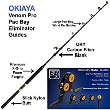 OKIAYA Carbon Fiber Venom PRO Series 20-40LB Tournament for Penn Shimano