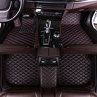 Muchkey car Floor Mats fit for Volkswagen Passat B7/B8 2011-2018 Custom fit Luxury Leather All Weather Protection Floor Liners Full car Floor Mats