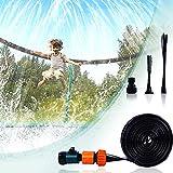 FORMIZON Trampolin Sprinkler, 15M Trampolin Spray Wasserpark, Trampolin Wasserpark, Sommer Outdoor...