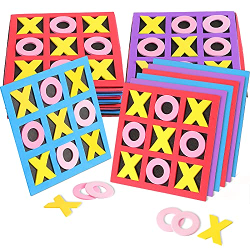 Tic Tac Toe - (Bulk Pack of 36) Foam Tic-Tac-Toe Mini Board Game for Kids - for Birthday Party...