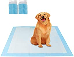 Dog Pads Large Cat Pad Reusable Pet Potty Training Puppy Pee Mat for Urine Disposable Absorbent Quick Dry No Leaking (60...