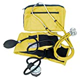 First Aid EMS Blood Pressure and Sprague Stethoscope Kit, Yellow
