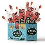 Adonis Low Sugar - Barritas de Pacanas Crujiente Sabor de Cocoa | 100% Natural, Baja en Carbohidratos, Sin Gluten, Vegano, Paleo, Keto (5)