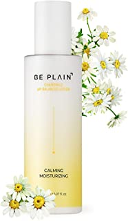 BE PLAIN Chamomile pH-Balanced Lotion - Facial Moisturizer for Natural Skin, Blemish-prone Irritated Acne Sensitive Skin Lotion Made with Pure Chamomile Flower