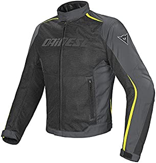 Dainese Hydra Flux D-Dry Jacket (54) (Black/Dark-Gull Grey/Fluorescent Yellow)