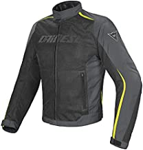 Dainese Hydra Flux D-Dry Jacket (54) (Black/Dark-Gull Grey/Fluorescent Yellow)