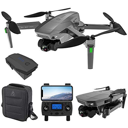 ZLL SG907 Max 5G WiFi FPV GPS with 4K HD Camera Three-Axis Gimbal Brushless Foldable RC Drone(Include 1 Battery)