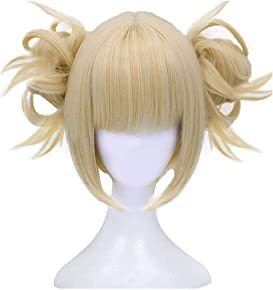 Explore short blonde wigs for cosplay