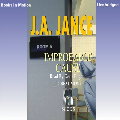 Improbable Cause audiobook cover art