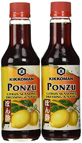 Kikkoman Ponzu Sauce, Bottle, 10 oz, 2 pk