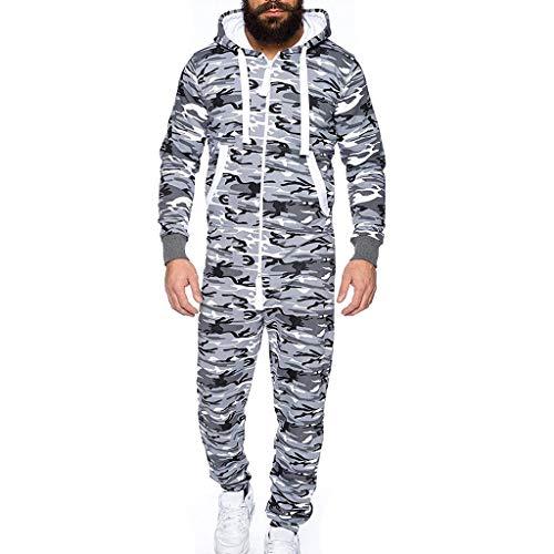 JiaMeng Mono Unisex Prenda de una Pieza Sin pie Pijama Traje
