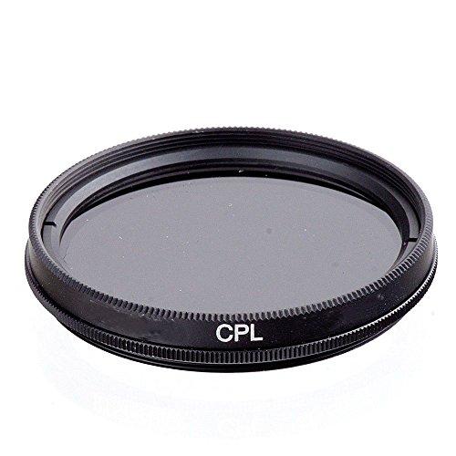 Market&YCY 55mm CPL Filtro, Per Canon EOS 1100D | 550D | 600D, Per Sony Alpha 100 | 200 | 230 | 290 | 330 | 350, per Alpha 7, Per Sony Alpha SLT-33 | SLT-35 e altro