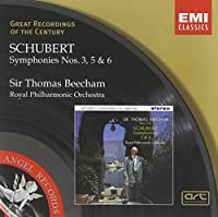 Schubert: Symphonies Nos. 3, 5, & 6 (Great Recordings Of The Century) (2005-05-03)