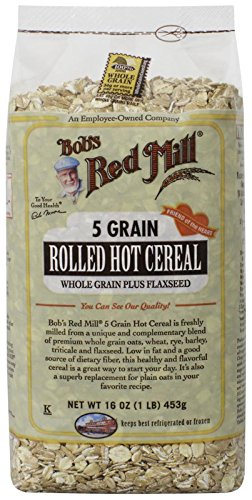 Bob's Red Mill 5 Grain Rolled Cereal, 16 Ounce