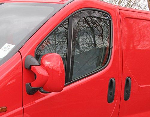 Windabweiser/Regenschutz für Renault Trafic 2001–2014,Innenbefestigung