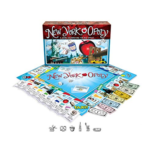 Late for the Sky New York -opoly