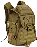 ArcEnCiel Tactical Backpack Military Army 3 Day Assault Pack Molle Bag Backpacks...