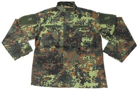 US Veste de Combat, ACU, Rip Stop - Flecktarn, 54