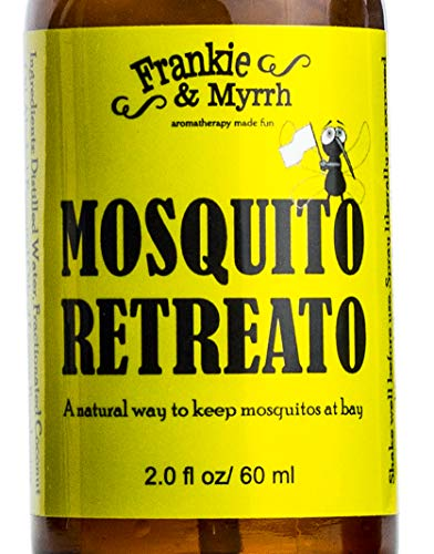 Mosquito Retreato - Plant Based Mosquito Repellent - All Natural Lemon Eucalyptus, Citronella, Peppermint Essential Oil Spray
