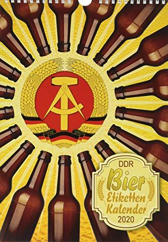 DDR Bieretiketten Kalender 2020 (Bierdeckel- und Bieretikettenkalender / DDR/BRD)