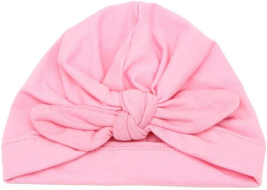 MAPPE Cotton Solid Color Baby Girl Hats Baby Photography Props Newborn Children Bowknot Bonnet Cap Toddler Boy Girls Spring Autumn Hat