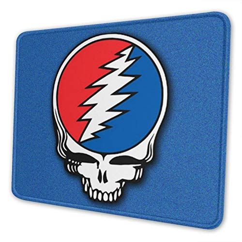 Grateful Dead Steal Your Face Mouse Pad Anti-Slip Personalized Rectangle Gaming Mouse Pads 7.1'X8.7'