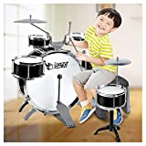 HBIAO Children Drum Kit Set, Children's Beginners Toys Large Drums Drums Combination Percussion