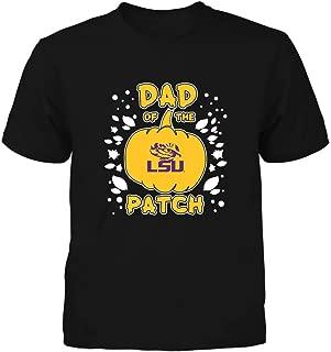 FanPrint LSU Tigers T-Shirt - Dad of The Pumpkin Patch - Team