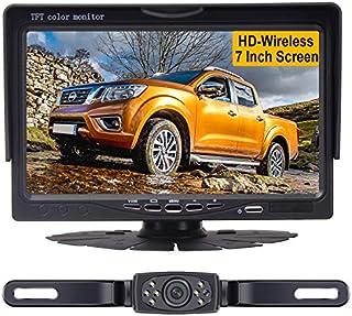 LeeKooLuu HD Wireless Backup Camera System for Cars,Trucks,Minivans,SUVs with 7