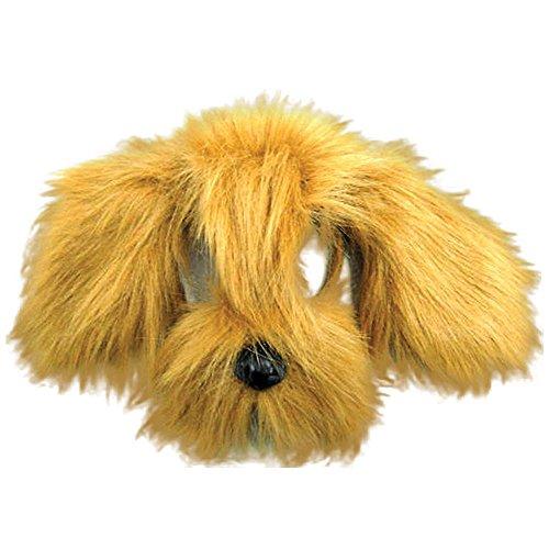 Bristol Novelty EM357 Struppiger Hund Maske, Braun, Unisex-Kinder, Einheitsgröße