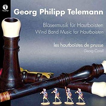 Telemann: Bläsermusik für Hautboisten