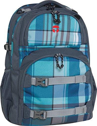 Take It Easy Schulrucksack OSLO-FLEX Atlantic 470191 blau/grau
