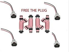 Fuel Injectors,ROADFAR 12 Holes Fuel Injector Kits Fit for 2006-2010 2013 2014 Subaru Impreza,2006-2013 Subaru Forester,2008-2012 Subaru Legacy,2008 2009 Subaru Outback,2006 Saab 9-2X 195500-3910,4Pcs
