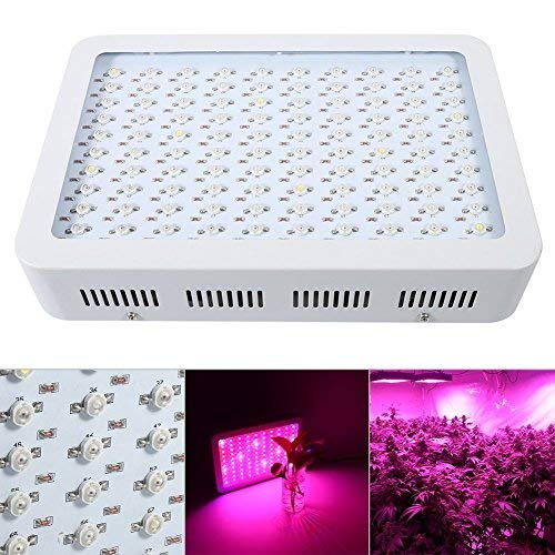 Grow LED Lampada Coltivazione Indoor 1000W Interno Luci piante Illuminazione Full Spectrum per Coltivazione Indoor per Serra Verdura e Fiori [Classe di efficienza energetica A+++]
