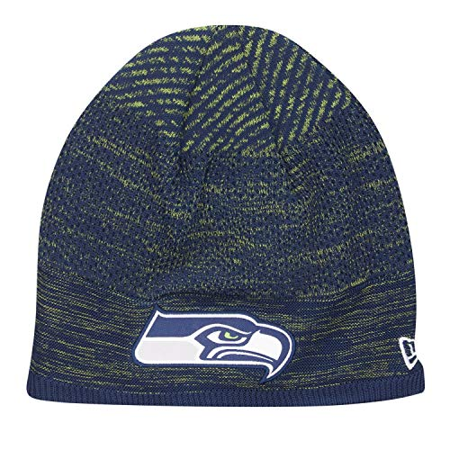 New Era TECH Knit Wintermütze NFL Beanie - Seattle Seahawks