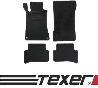 CARMAT TEXER Textil Fußmatten Passend für Mercedes Benz C Klasse W203 Bj. 2000 2007 Basic